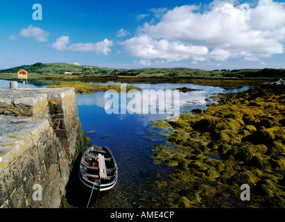 coastal harbour - Stock Photo