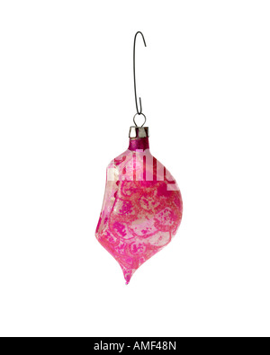 Christmas ornament hanging on hook - Stock Photo