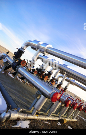 Gas Station For Sale In Alberta >> Natural gas pipeline risers with compressor and ...