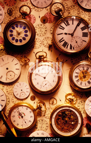 Assorted watches - Stock Photo