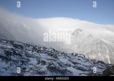 Mount Washington - White Mountains New Hampshire USA - Stock Photo