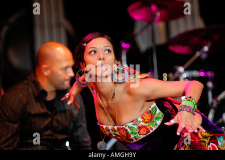 lila downs womad - Stock Photo