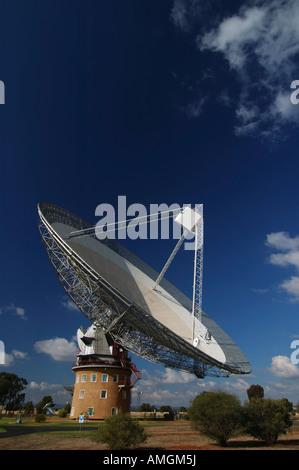 'The Dish' - Radio Telescope, Parkes, New South Wales (NSW), Australia - Stock Photo