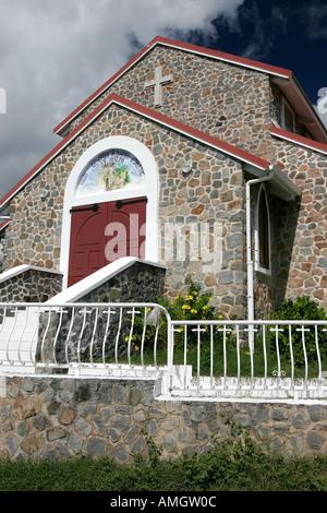 St Josephs Catholic Church Orleans French side St Martin - Stock Photo