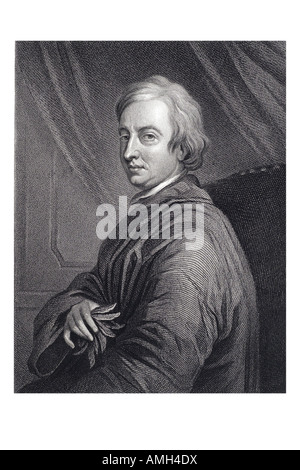 JOHN DRYDEN 1631 1700 English poet dramatist and literary critic Imperial dictionary of universal biography series - Stock Photo