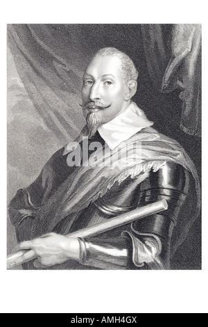 Gustav II Adolf 1594 1632 known Gustavus Adolphus Swedish the Great death battle. King of Sweden - Stock Photo