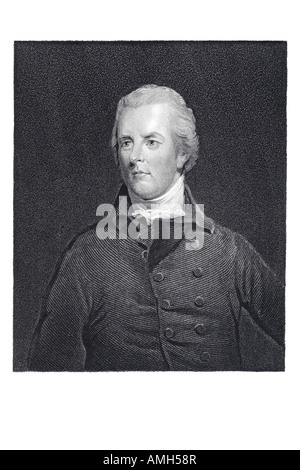 William Pitt Younger  1759 1806 British politician Tory independent Whig prime minister youngest ever French Revolution - Stock Photo