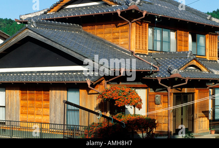 japan shikoku traditionelles haus bei kochi stock photo - Haus Japan