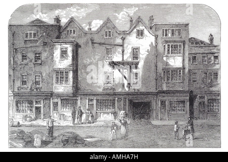 1823 oldbourne hall shoe lane London City capital England English Britain British UK United Kingdom GB royal Greater - Stock Photo