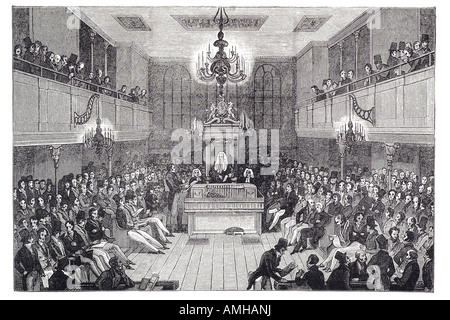 1834 house of commons elected lower house bicameral parliament Palace democratically elected Westminster member - Stock Photo