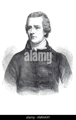 william pitt YOUNGER English politician Second son 1st Earl Chatham - Stock Photo