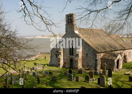 St. Peter's Church, Heysham, Lancashire - Stock Photo