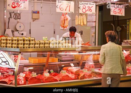 Plenty of fresh meat at a market stock photo royalty for Plenty of fish albany ny