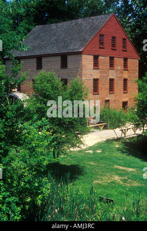 Colvin Run Grist Mill Fairfax VA - Stock Photo