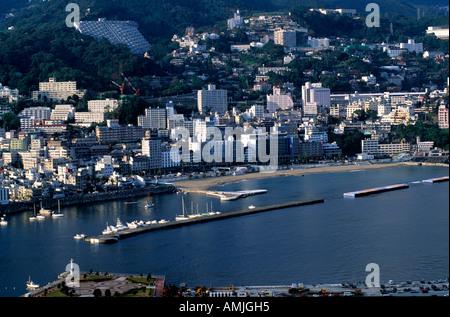 Japan, Kanto, Fuji-Region, Izu-Halbinsel, Atami - Stock Photo
