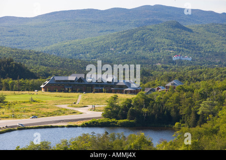 Appalachian Mountain Clubs Highland Center in Crawford Notch New Hampshire USA - Stock Photo