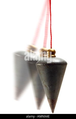 Plumb-line, close-up - Stock Photo