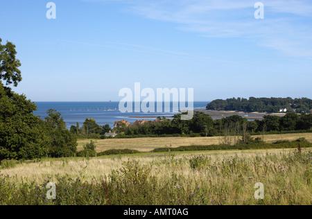 Bembridge on the Isle of Wight, UK. - Stock Photo