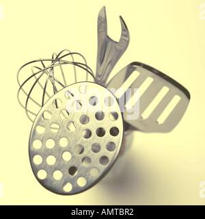 Various utensils - Stock Photo