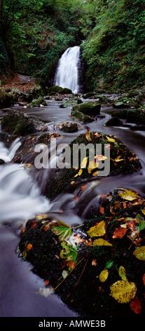 Glenoe Co Antrim Northern Ireland - Stock Photo
