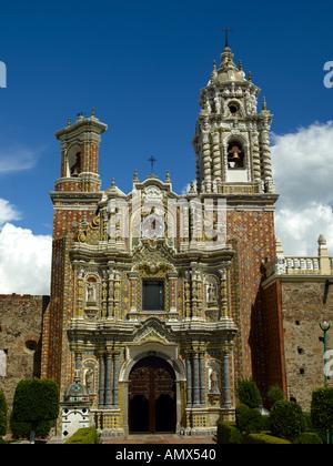 Church of Santa Maria de Tonantzintla - Stock Photo