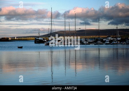 PICTURE CREDIT DOUG BLANE 2006 cycle tour of Orkney Shetland Islands Great Britain - Stock Photo