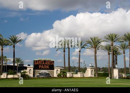Santa Anita Park, Arcadia, California - Stock Photo