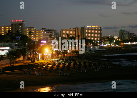 25 01 2004 Kanaren Teneriffa Playa de las Americas - Stock Photo