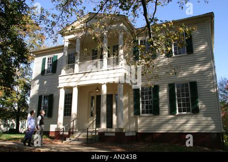 Raleigh North Carolina Mordecai Historic Park Mordecai House Greek Revival - Stock Photo