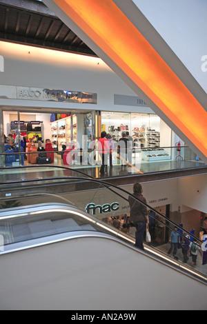Portugal, Lisbon, Armazens Do Chiado, Shopping Centre - Stock Photo