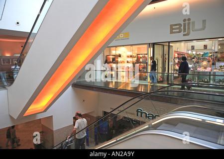Portugal, Lisbon, Armazens Do Chiado Shopping Centre - Stock Photo