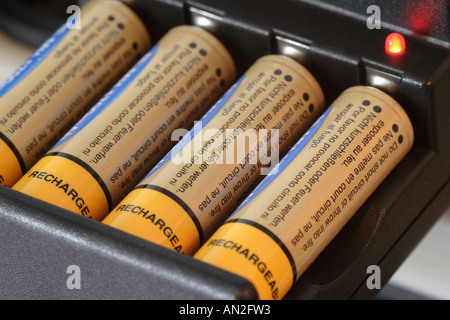 Battery charger - Stock Photo