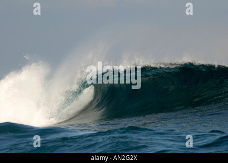 25 01 2004 Kanaren Teneriffa Wellen beim Punta del Hildalgo - Stock Photo