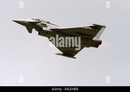 Eurofighter Typhoon T1 No 29 R Sqdn RAF Coningsby - Stock Photo