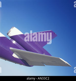 Jet Plane Detail - Stock Photo
