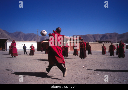 Tibetan Monks - Stock Photo