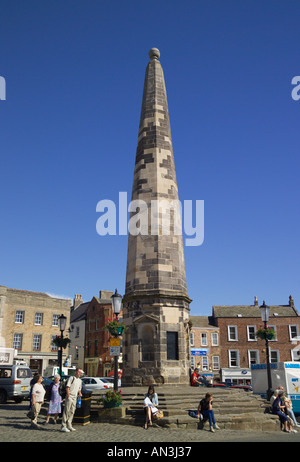Richmond [North Yorkshire] town square England - Stock Photo