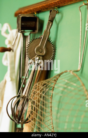 Vintage Kitchen Tools Or Gadgets Stock Photo Royalty Free