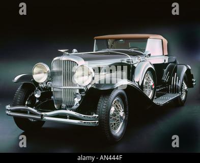 1933 Duesenberg SJ - Stock Photo