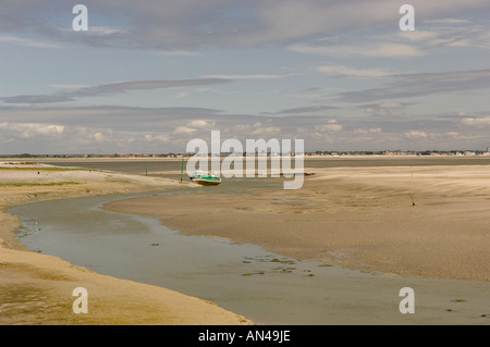 Bay of the Somme france - Stock Photo