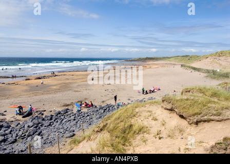 Fanore Beach, Co Clare, Ireland - Stock Photo