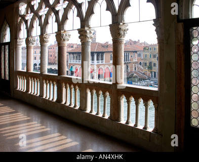 Ca d'Oro Interior, Venice, Italy. - Stock Photo