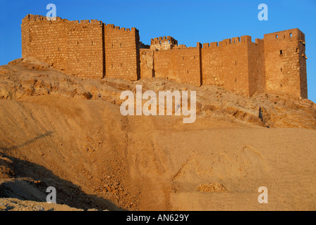 Qala'at Ibn Maan, Palmyra, Syria - Stock Photo