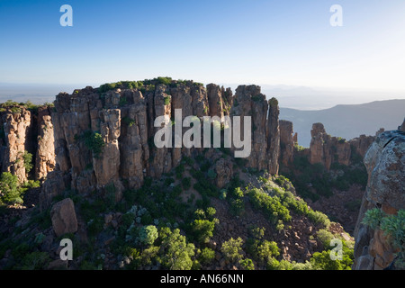 The Valley of Desolation Karoo Nature Reserve Graaff Reinet South Africa - Stock Photo