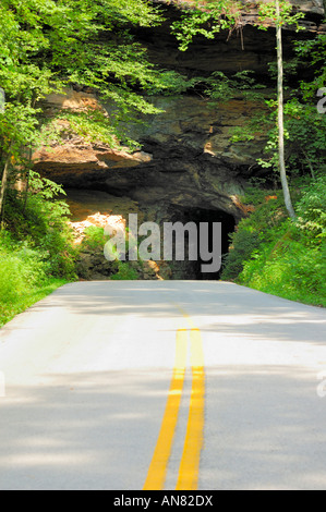 Nada Tunnel in Kentucky - Stock Photo