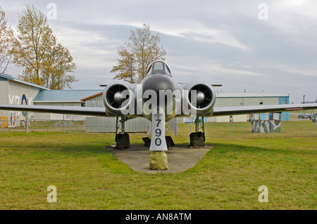 Comox Heritage Air Park Air Force Outdoor Museum Collection BC Canada - Stock Photo