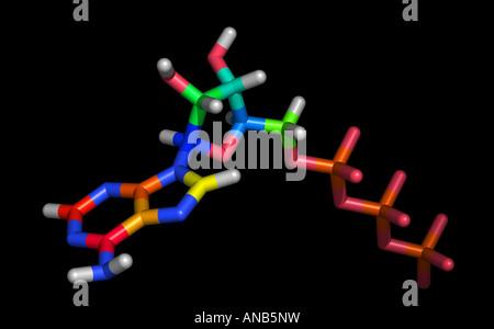 ATP adenosine triphosphate - Stock Photo