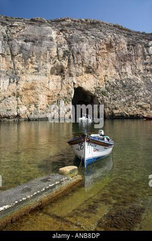The Inland Sea, Gozo, Malta - Stock Photo