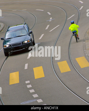 Child cyclist - Stock Photo