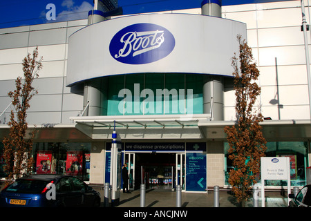 boots department store gallions reach east london england uk gb - Stock Photo